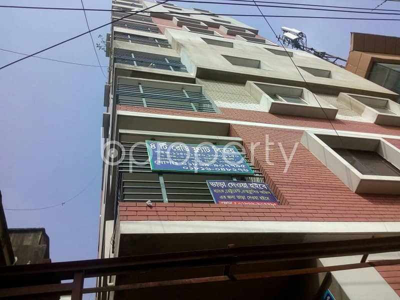 See this apartment which is up for sale in Halishahar near Halishahar Ahmad Miah City Corporation High School