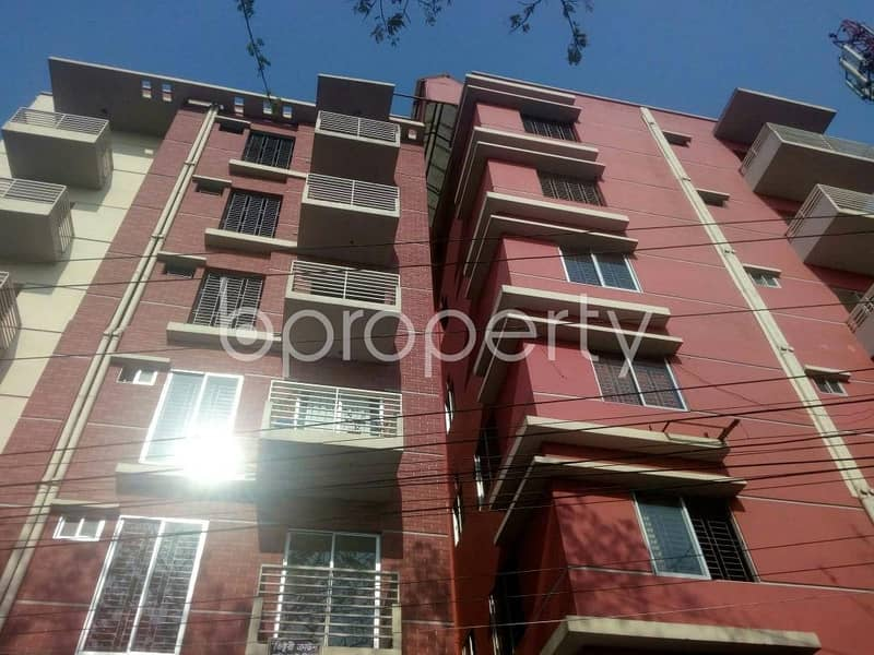A 1586 Sq Ft 3- Bedrooms Nice Flat For Sale At Uttar Khan Nearby Baitur Redwan Jame Mosque