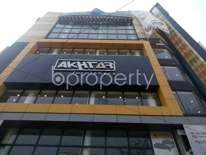 An office space is for rent which is located on Kathalbagan, nearby Dutch Bangla Bank Limited ATM