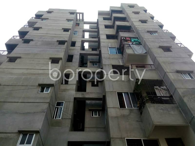 Check this apartment up for sale at Dakshin Khan very near to Southeast Bank Limited