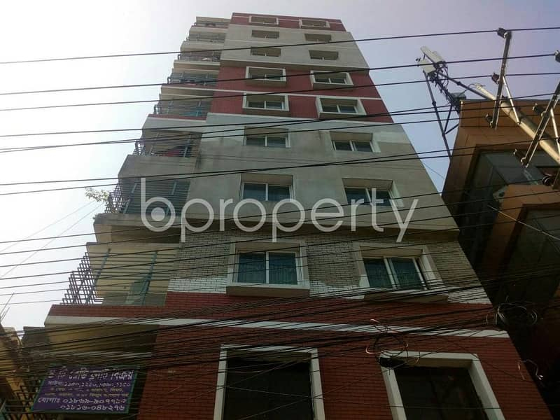 An apartment for sale is all set for you to settle in Halishahar close to Halishahar Central College