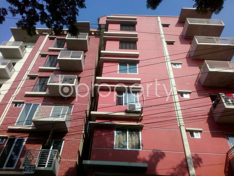 An apartment is up for sale in Uttar Khan, near Jini Seven Star Pharmacy.