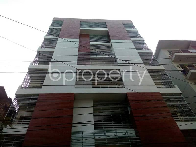 Check this comfortable and nice apartment for sale at Halishahar nearby Halishahar B Block Primary School