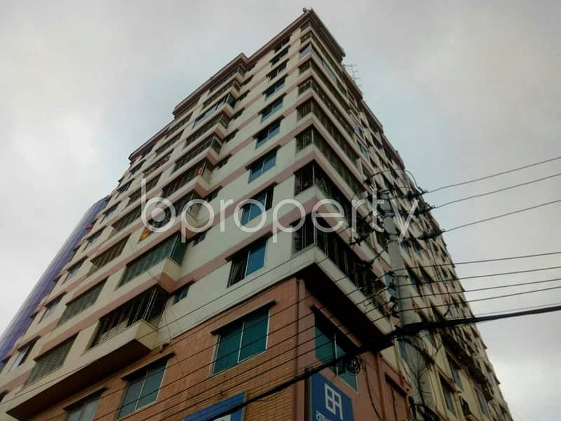 Obtain Your New Residence At This Apartment Up For Sale At Merul Badda Nearby Al-arafah Islami Bank Limited
