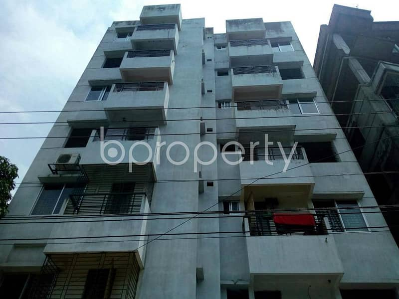 An apartment and make it your new home which is up for sale in Dakshin Khan, near Standard Bank Limited.