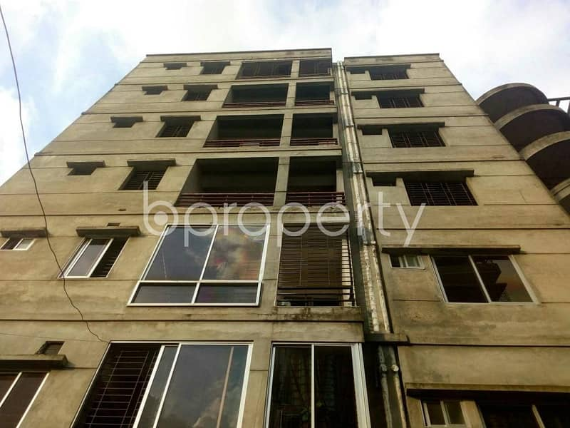 An Apartment For Sale At Dakshin Khan, Near Dutch-bangla Bank Limited Fast Track Atm