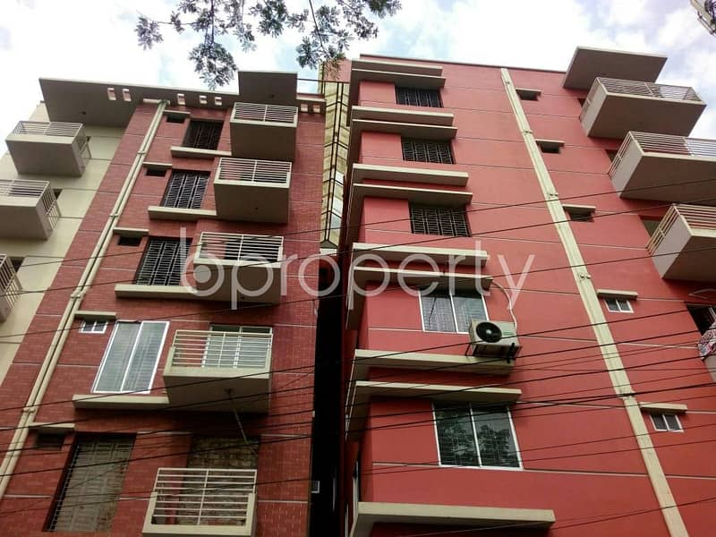 Obtain Your New Residence At This Apartment Up For Sale At Moinartak Road, Uttar Khan Nearby Dakkhin Khan Darul Ulom Madrasa.
