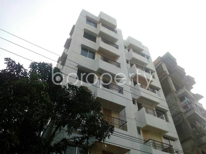 A well defined residential flat of 1250 SQ FT is available for sale in Ashkona, near Ashkona Government Primary School
