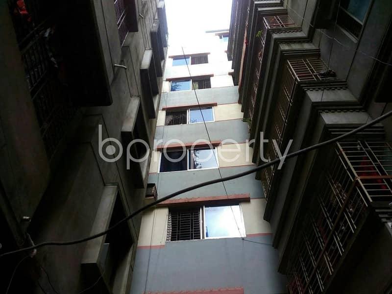 Reside Conveniently, In This Apartment For Sale In Jatra Bari, Near Dr. Mahbubur Rahman Mollah College