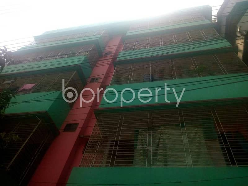 A 800 SQ FT apartment is available for Rent at West Rampura nearby Dutch-Bangla Bank Limited | ATM Booth
