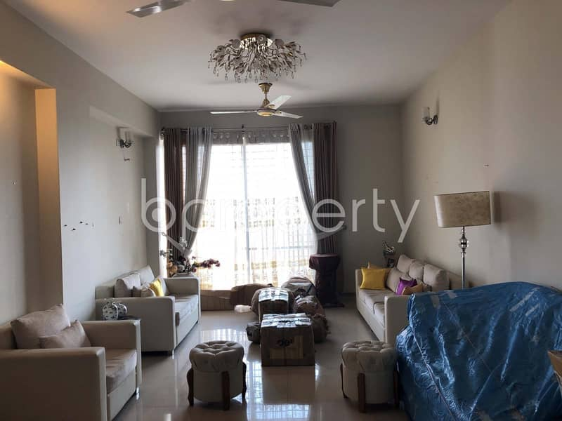 Luxurious And Furnished Apartment At Khulshi, For Rent Close To Khulshi Jame Masjid