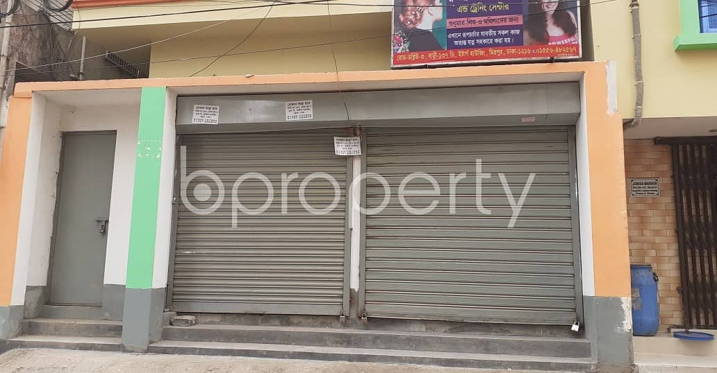 This Shop Is Up For Rent In Mirpur Near Noor E Makka Jame Masjid