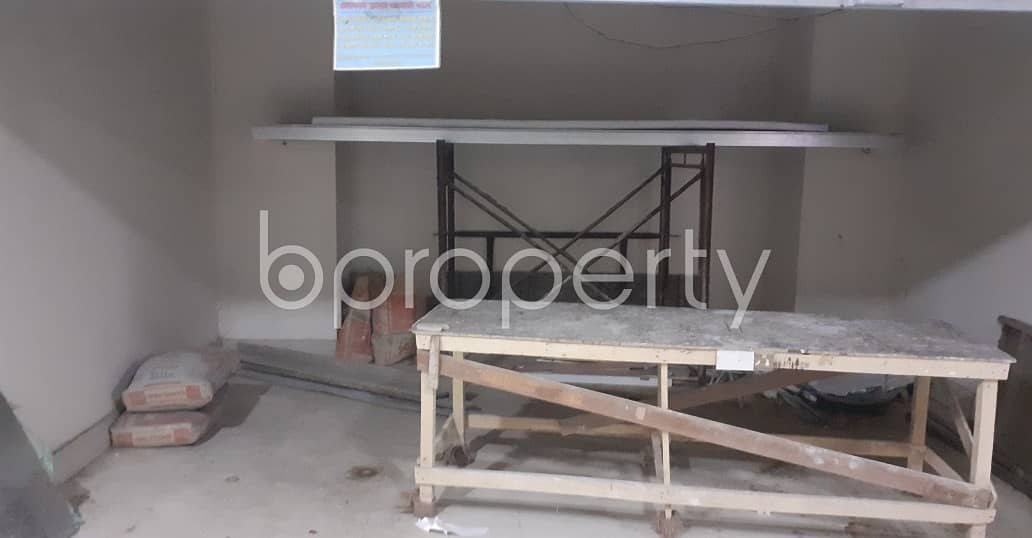 A Shop Is Ready For Rent In Dhanmondi