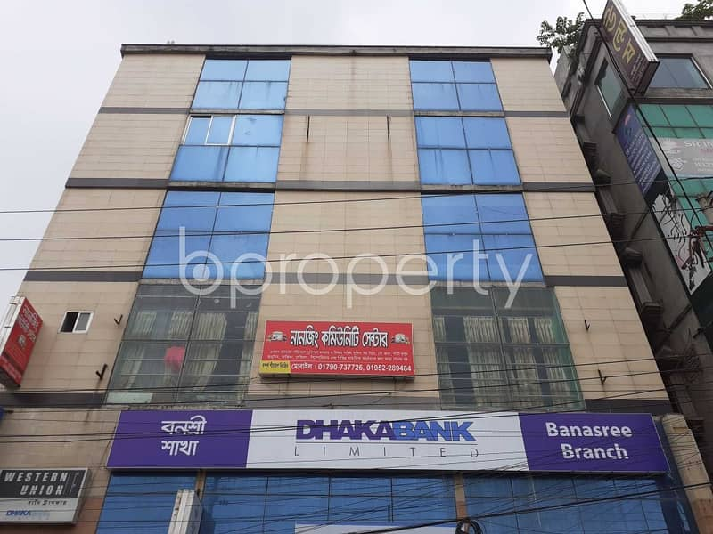 See This Commercial Space Up For Sale In Banasree Near Banasree Central Jame Mosque
