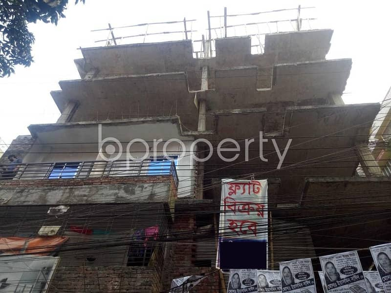 An Apartment Up For Sale Is Located At Maghbazar, Near To Modhubag Bazar