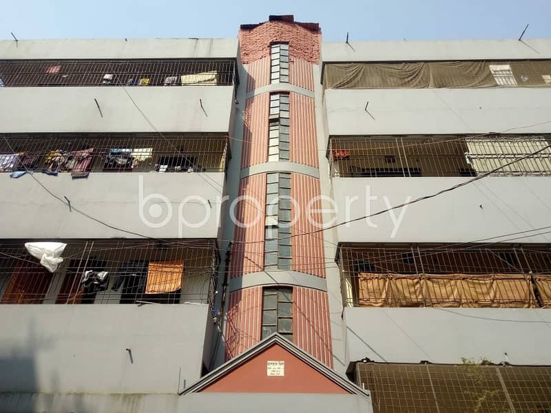 An Apartment Up For Rent Is Located At Uttara, Near To Badshartek Jam - E - Masjid