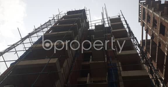 An Apartment Up For Sale Is Located At Bashundhara R-a, Near To Markazul Fiqril Islami Bangladesh