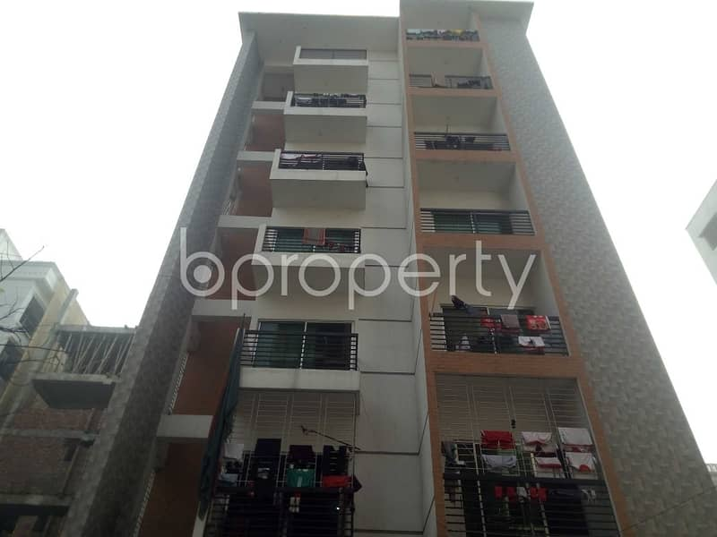 A Residential Apartment Is Up For Rent At Bashundhara R-A, Near Atimkhana Madrasa