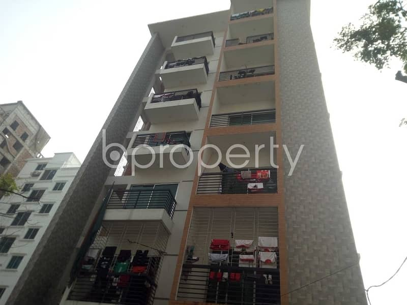 Three Bedroom Flat In Bashundhara R-A Is Present For Rent