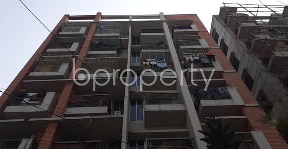 An Apartment Is Ready For Rent At Bashundhara R-A, Near Bashundhara Boro Masjid