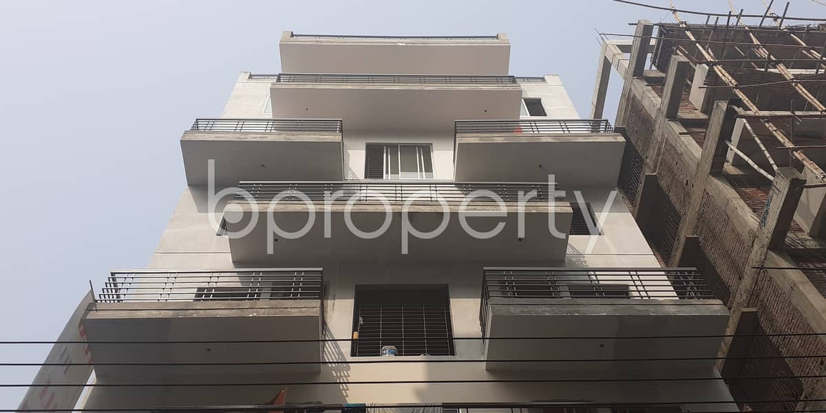 An Apartment Is Ready For Rent At Bashundhara R-A, Near Chapra Masjid