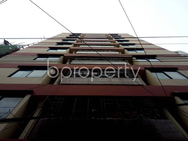 An Apartment Is Ready For Rent At Bashundhara R-A , Near Bashundhara Central Mosque