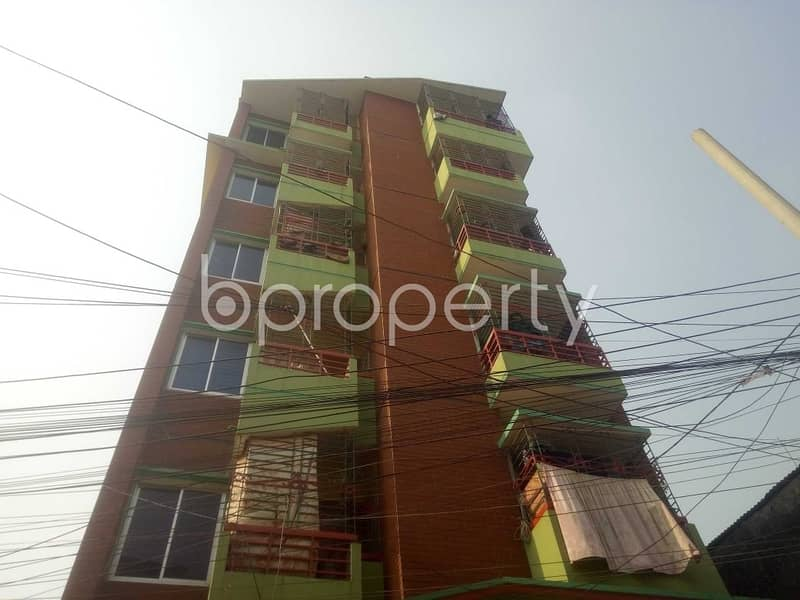 Apartment For Rent In Badda, Near Martin Luther College