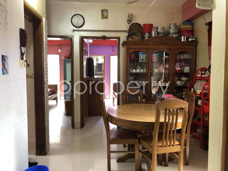 Moderate Flat Is Ready For Sale In Dhanmondi Near Jafrabad Government Primary School