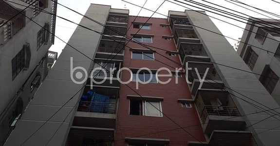 An Apartment Is Ready For Sale At Mohammadpur , Near Prominent Housing Baitul Abrar Jam-e-Masjid.