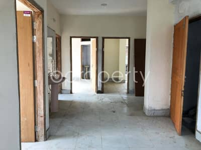 3 Bedroom Apartment for Sale in Dakshin Khan, Dhaka - A Lucrative 1220 SQ FT Flat Can Be Found In East Azampur For Sale, Near Bgmea Institute Of Fashion & Technology