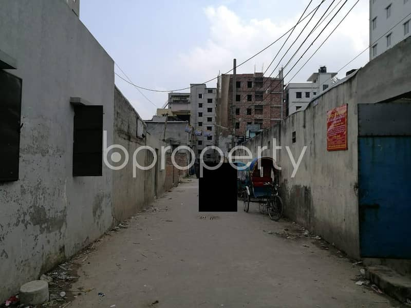 Residential Plot For Sale In Adabor Nearby One Bank Limited .