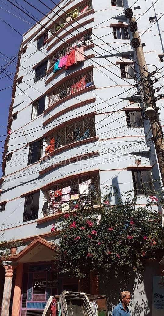 This Flat Is Now Vacant For Rent In Dattapara Close To Baitur Rahman Eidgah Jame Masjid