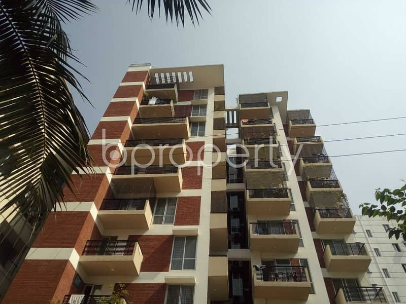 An Apartment Is Ready For Sale At Bashundhara R-A, Near Viquarunnisa Noon School and College