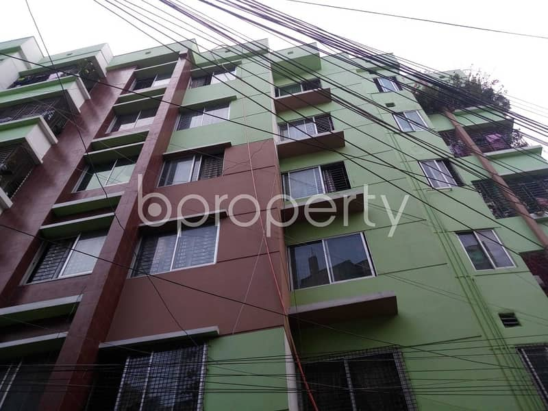 Visit This Apartment For Sale In East Shewrapara Near Jhilpar Jame Masjid.