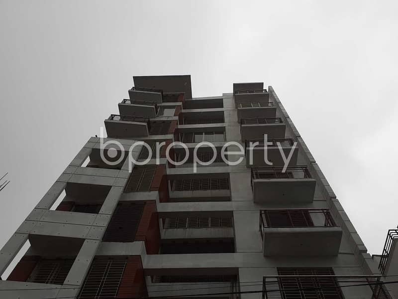 Nice Flat Can Be Found In Bashundhara For Sale, Near Viquarunnisa Noon School And College