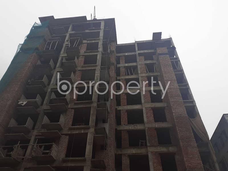 Close To Alhaj Mockbul Hossain University College, In Mohammadpur, You Will Get The Flat That Is vacant For Sale
