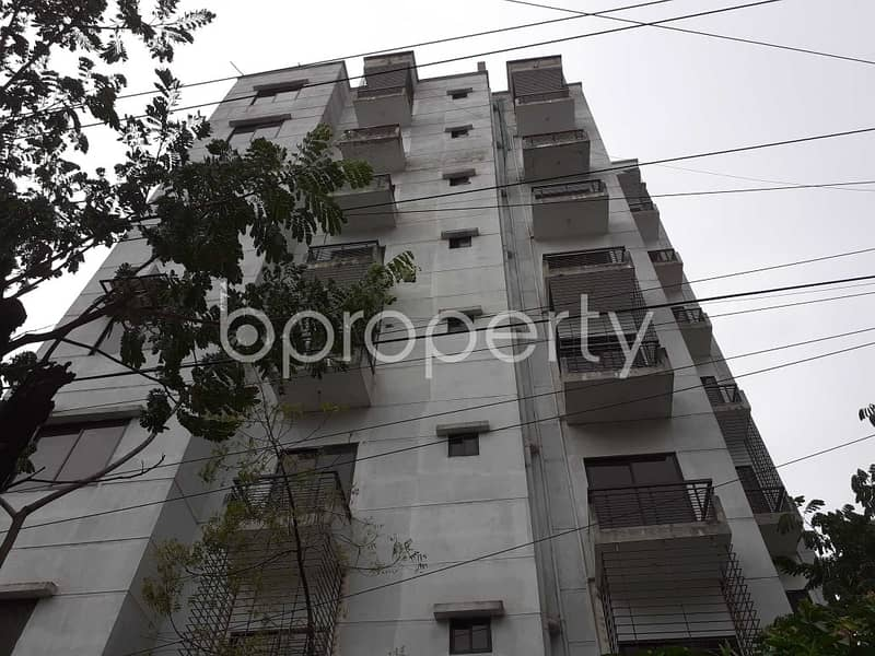 Visit This Apartment For Sale In Bashundhara R-A Near American International University.