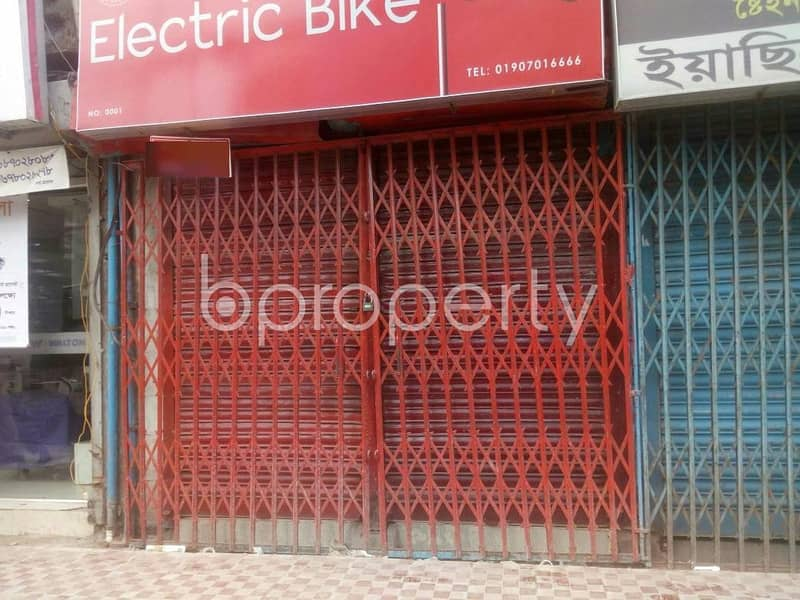 At Malibagh Shop for Rent close to Jame Masjid