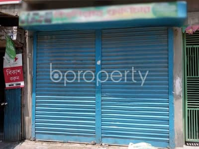This 120 Sq. Ft. shop is up for rent in Mohammadpur near to Winsome School & College