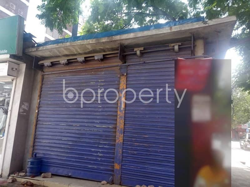 This 350 Sq. Ft. shop is up for rent in Uttara near to Daffodil International University