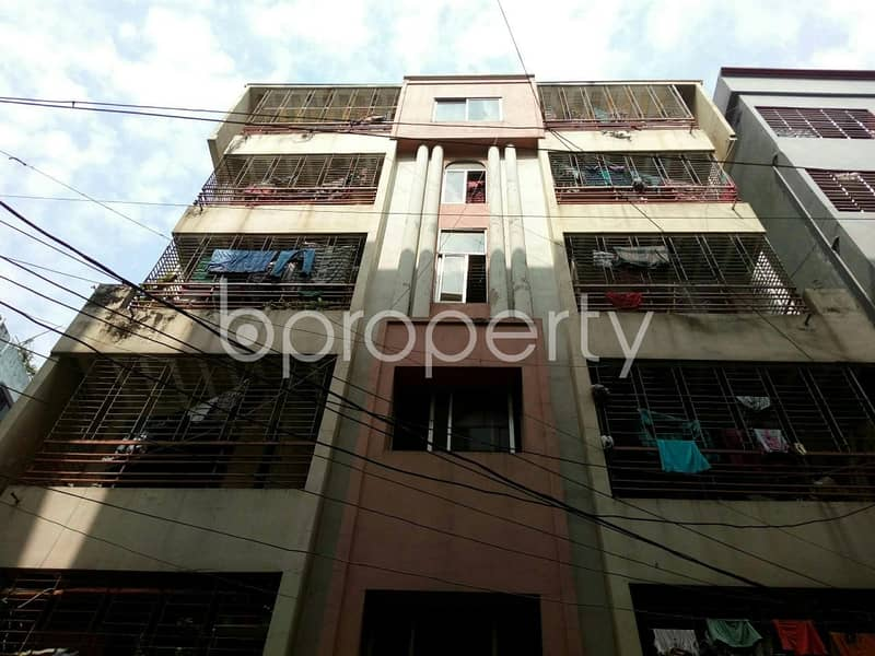 Be the owner of this beautiful flat of 1000 SQ FT which is vacant now for sale at Mohammadpur nearby Alhaj Mokbul Hossain Bisshobiddalay College