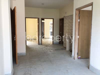 3 Bedroom Flat for Sale in Dakshin Khan, Dhaka - A Wonderfully Designed 1220 SQ FT Apartment Can Be Found For Sale Near BGMEA Institure Of Fashion & Technology