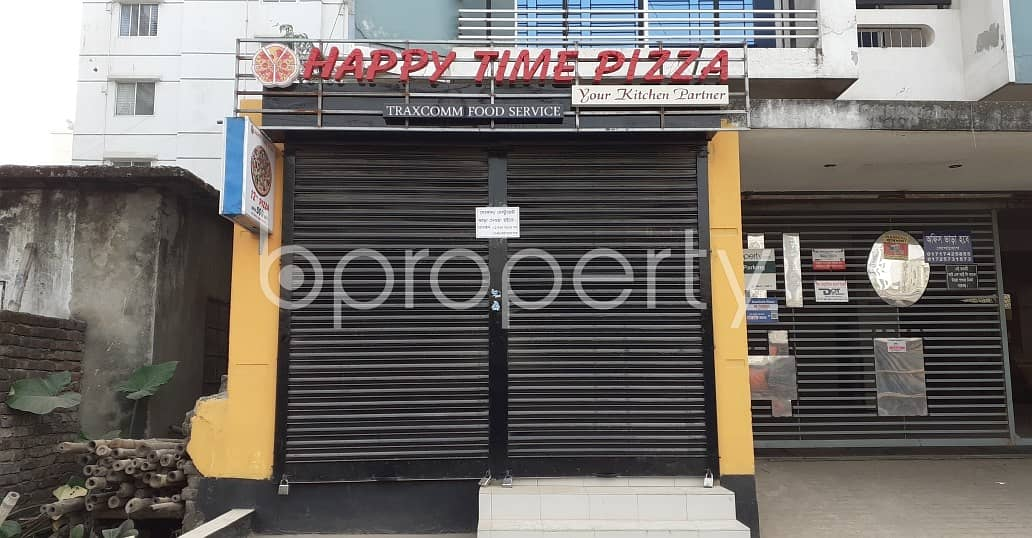 A Shop Is Up For Rent In Uttara Near Milestone College
