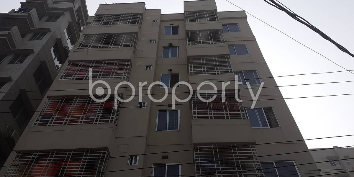This Ready Apartment At Bashundhara R-A , Near Viquarunnisa Noon School and College Is Up For Sale.