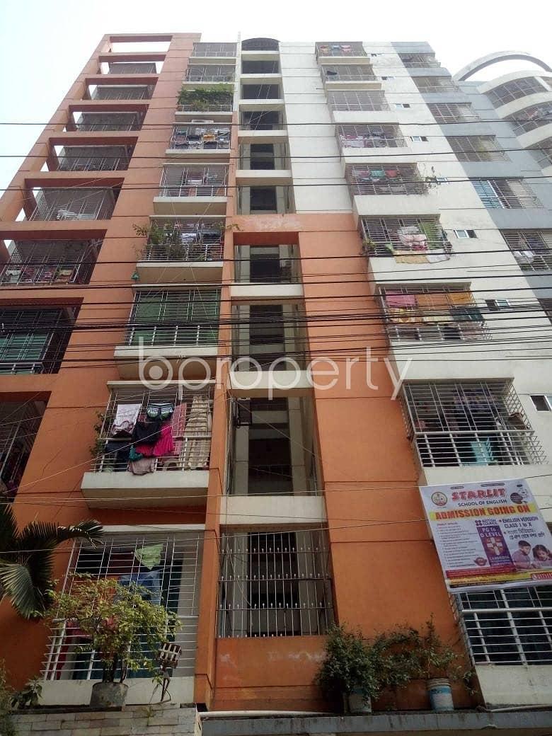 1,200 Sq. Ft. Apartment Is For Sale At Badda Near Baitul Huda Jame Masjid