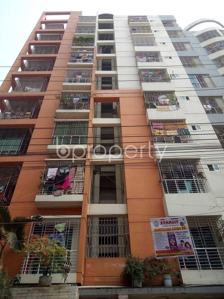 This Flat Is Ready For Sale, In Badda, To Reside