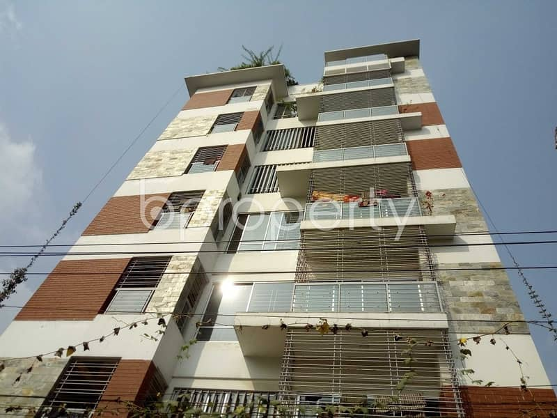 A Ready Flat Is Available For Rent At Bashundhara Nearby Baitul Jannat Jame Masjid