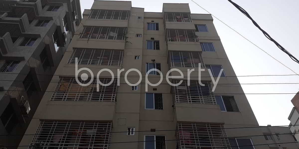 Beautiful And Well-constructed Flat Is Ready For Rent At Bashundhara Nearby Viquarunnisa Noon School And College
