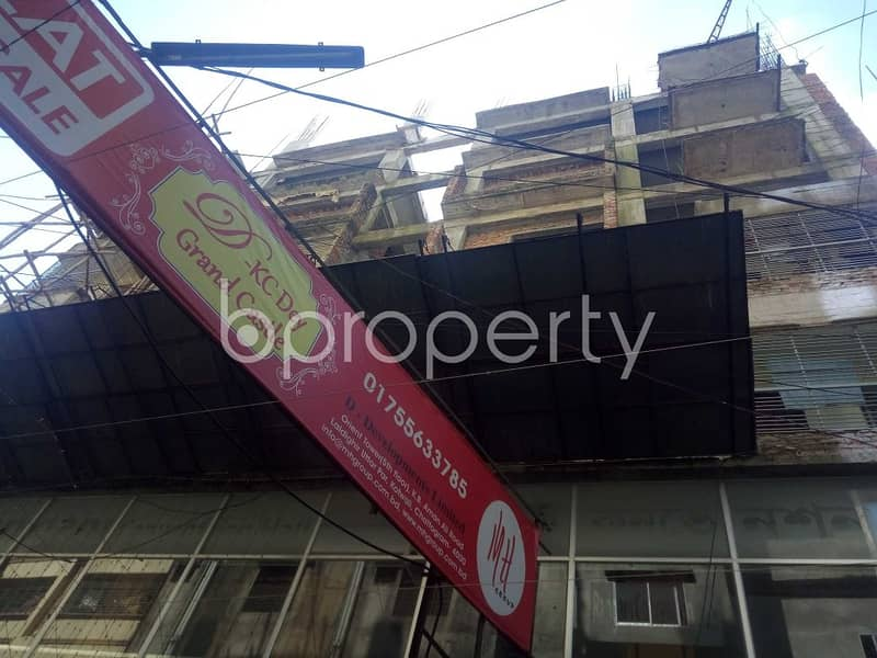 An Apartment Which Is Up For Sale At Patharghata Near To Sultanul Awlia Hazrat Syed Mojnu Shah (Rah. ) Mazar Shorif