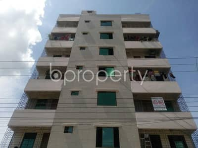 In The Location Of Aftab Nagar, Close To Dhaka Imperial College A Flat Is Up For Sale